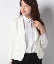 七分袖コンパクトテーラードジャケット
