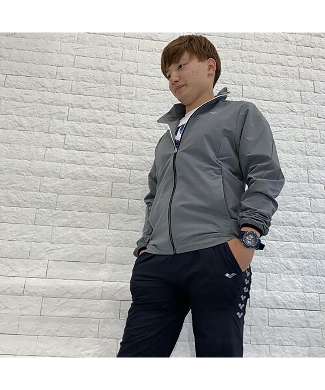 【選手着用モデル】ウインドジャケット(ストレッチ/はっ水)