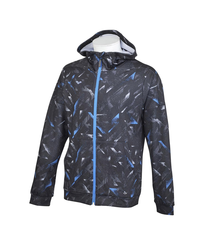 【ユニセックス】総柄スウェットジャケット
