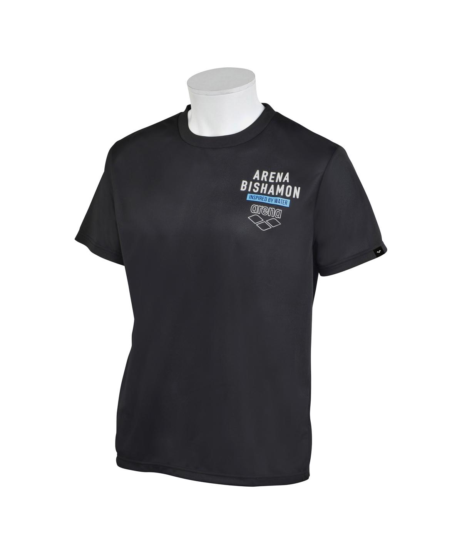 アリーナビシャモン バックロゴTシャツ(吸水速乾)(UPF15)