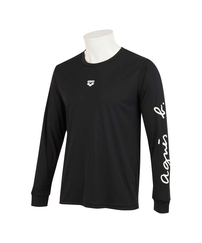 agnes b. x arena ロングスリーブTシャツ(吸水速乾/UV)