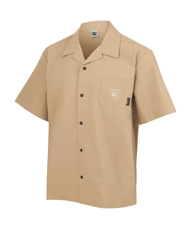 【BEACHSIDE LIFESTYLE】襟付き半袖シャツ