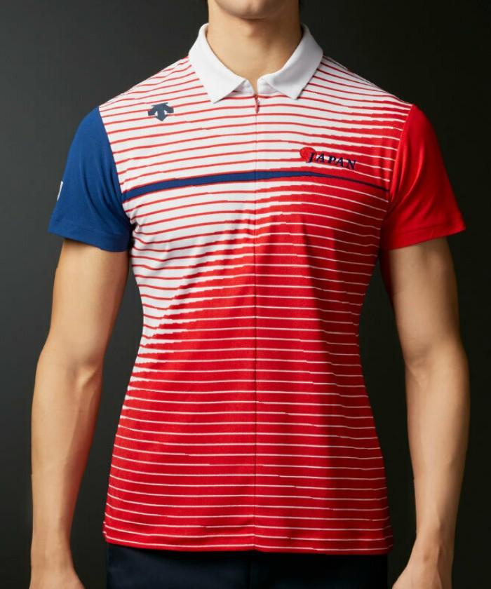 【ナショナルチームモデル】ライジングプリント ショートスリーブシャツ【UV】