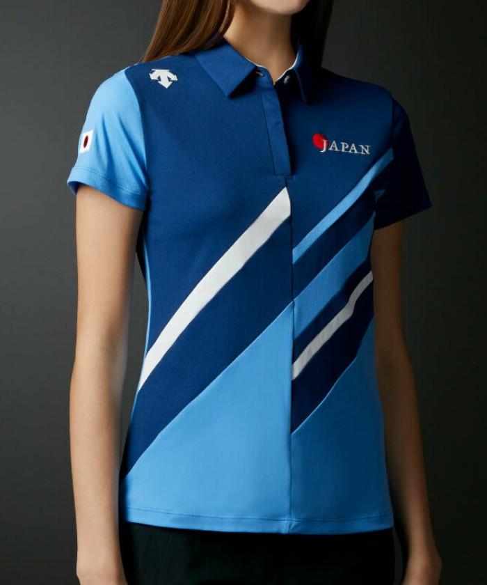 【ナショナルチームモデル】カッティングデザイン ショートスリーブシャツ【UV】