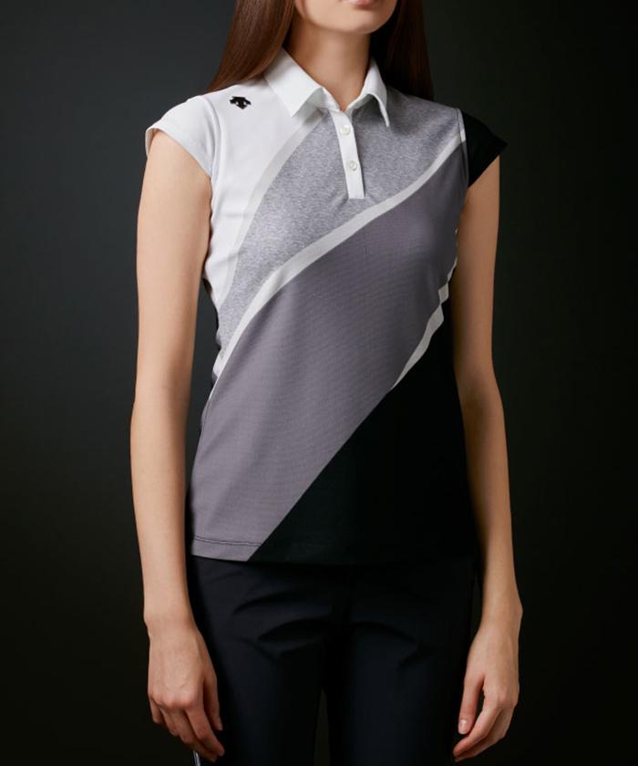 ポリエステル鹿の子UMIプリントシャツ【ECO】【UV】