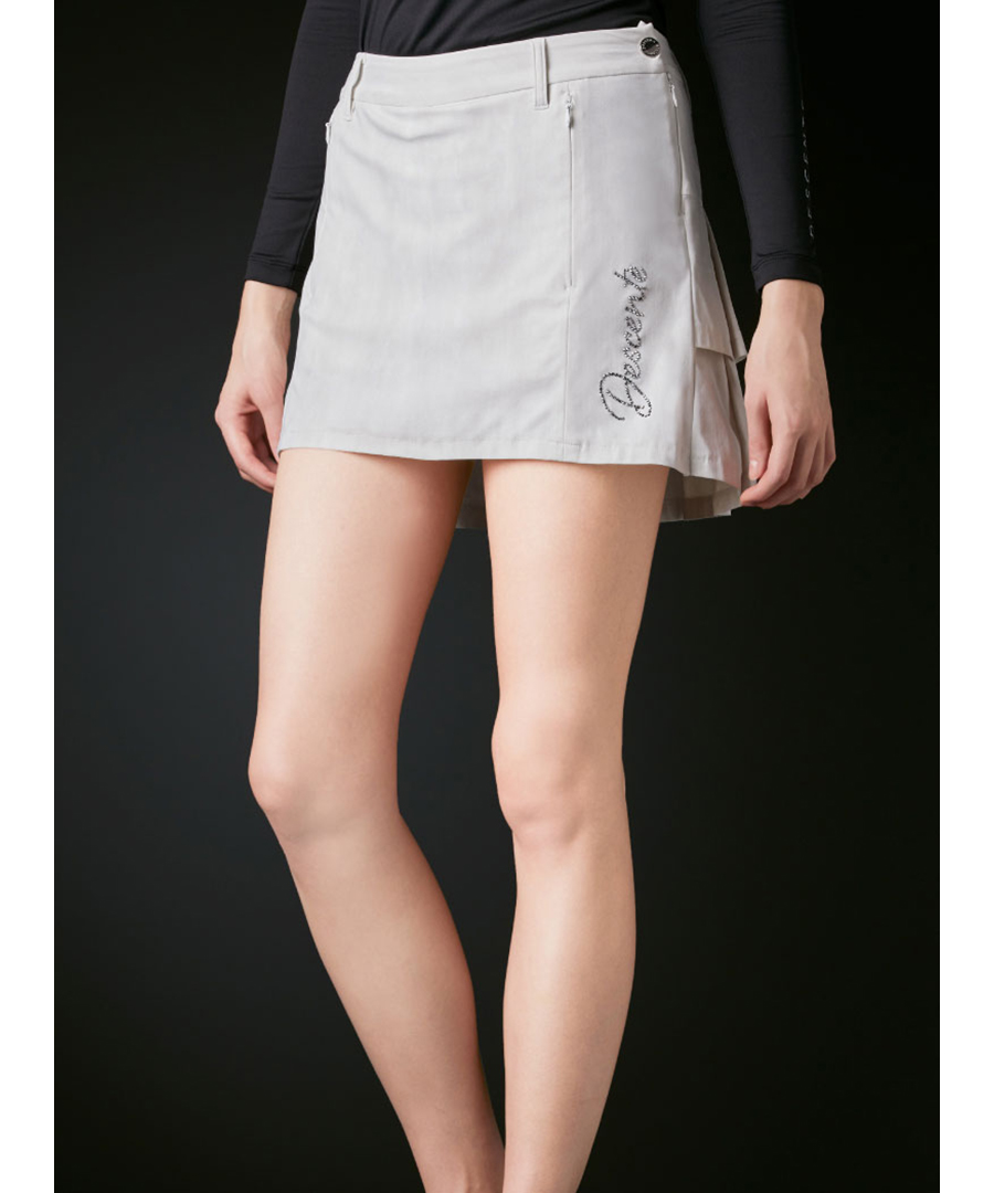 【LUXE】メリルハイテンションプリーツスカート【UV】