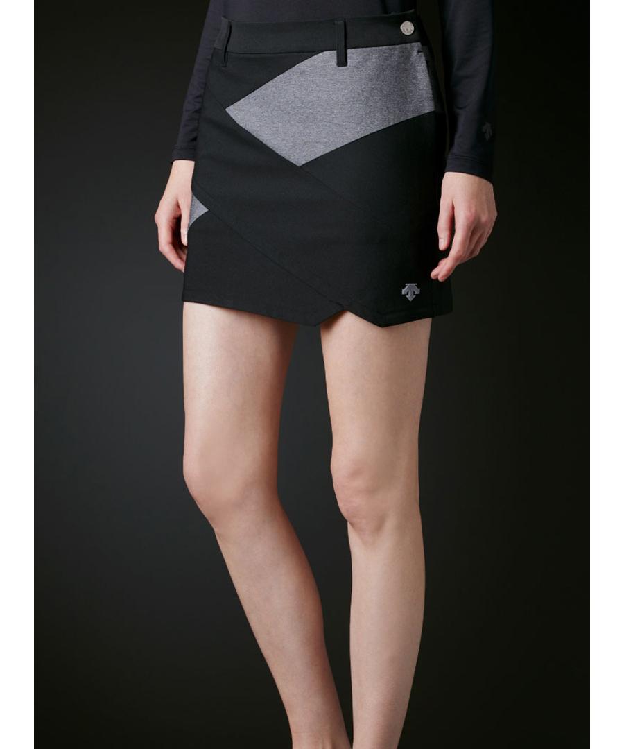 ミックスストレッチRYOKU切り替えスカート【ECO】【UV】