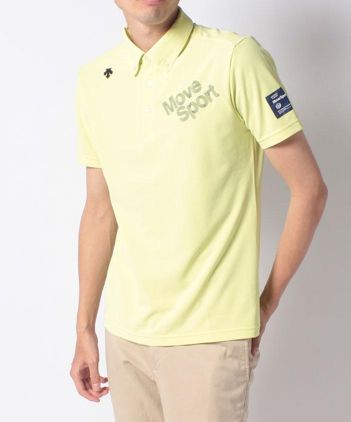 【BLUE LABEL】ドライキューブロゴ刺繍シャツ【クーリストD-Tec】【UV】