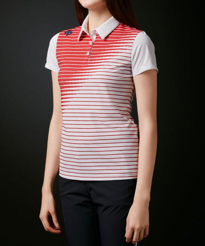 【JAPAN NATIONAL TEAM プレイングモデル】ライジングボーダーグラデーションシャツ