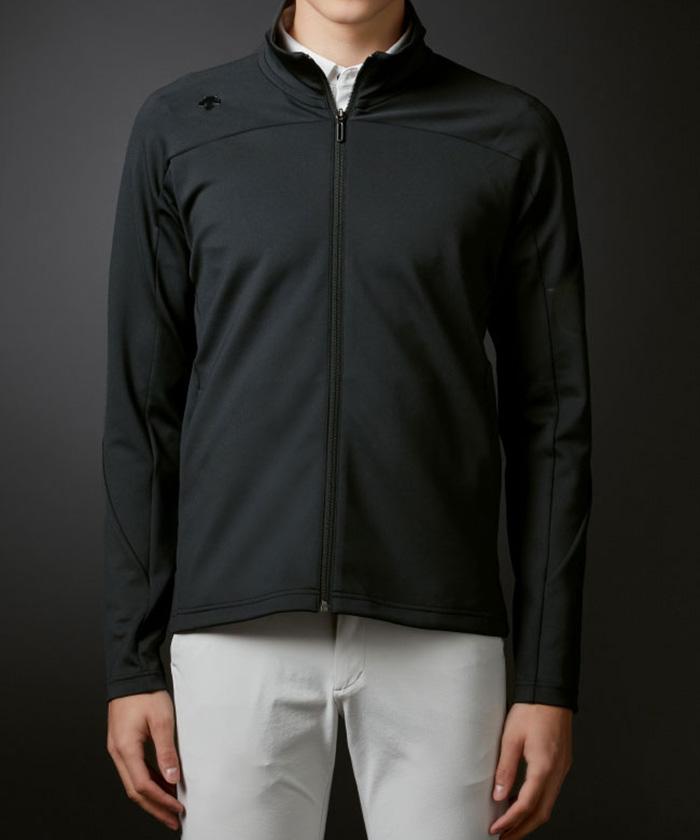 リサイクルポリエステルラバープリントジャージージャケット