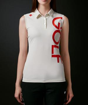 フィールドセンサープラスロゴプリントスリーブレスシャツ【ECO】【UV】