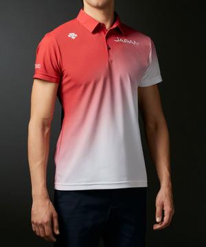【JAPAN NATIONAL TEAM レプリカモデル】ライジンググラデーションシャツ