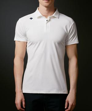 フレックスムーブスムースロゴプリントシャツ【ECO】【UV】