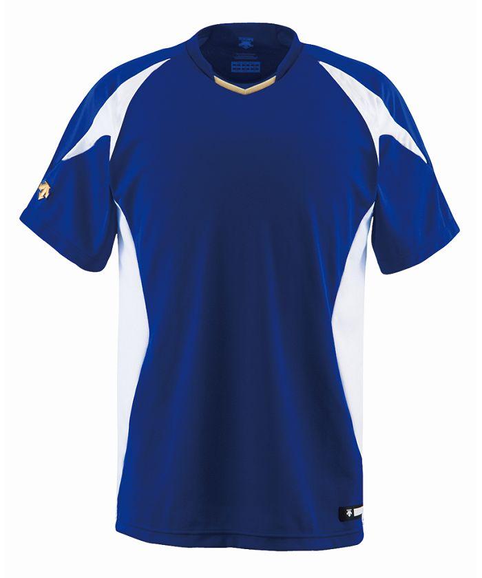 【メンズ】【野球】【吸汗速乾】ベースボールシャツ