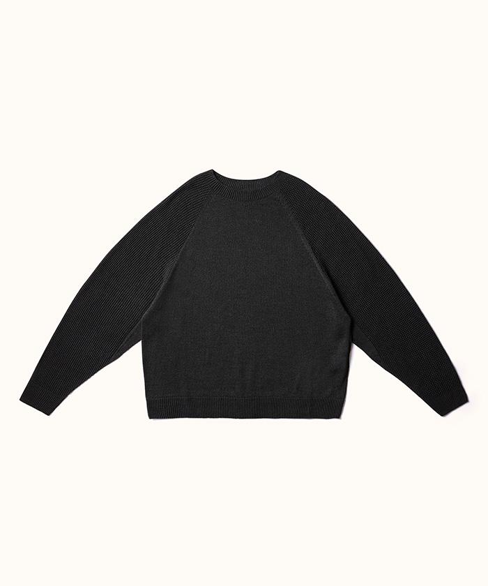 """ホールガーメントセーター""""リラックス"""" / Wholegarment Sweater """"Relax""""(RE:DESCENTE)"""