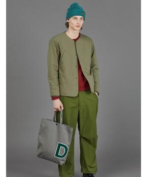 【メンズ】【DESCENTE ddd】ライトパフカーディガンジャケット