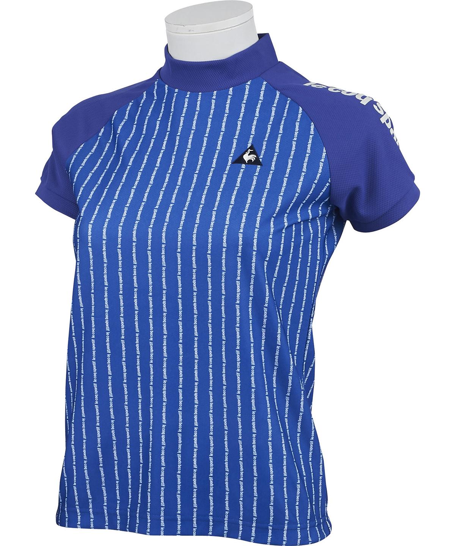 ソレイユモックネック半袖シャツ