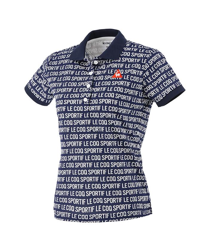 ロゴジャガード半袖シャツ
