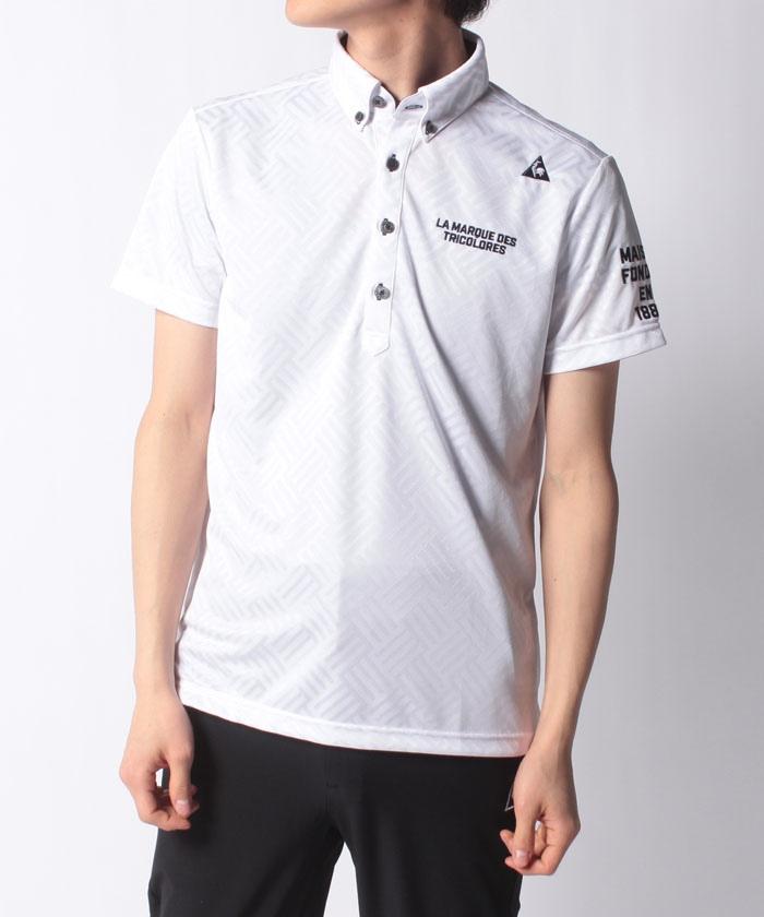 ジャガード柄半袖シャツ