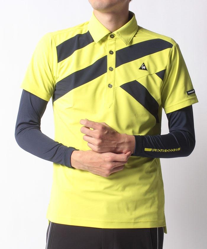 半袖レイヤードシャツセット