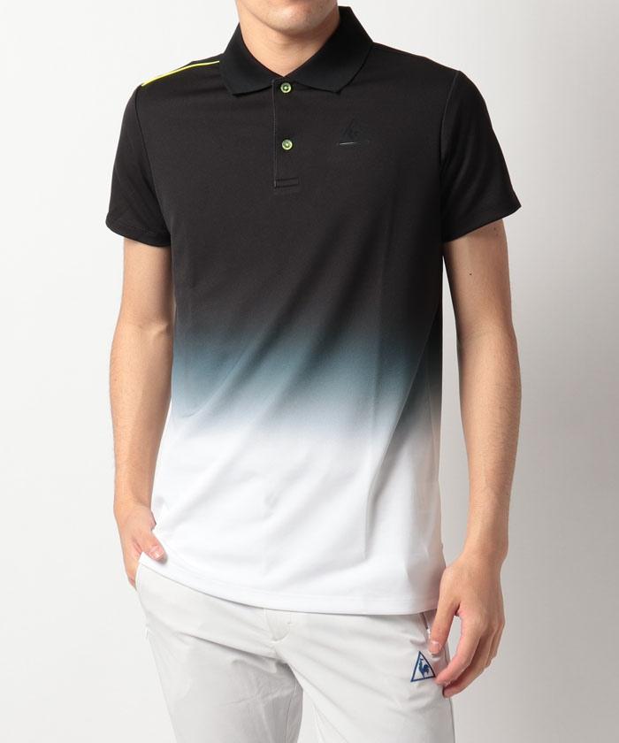 RIJOUME グラデーションプリント半袖シャツ