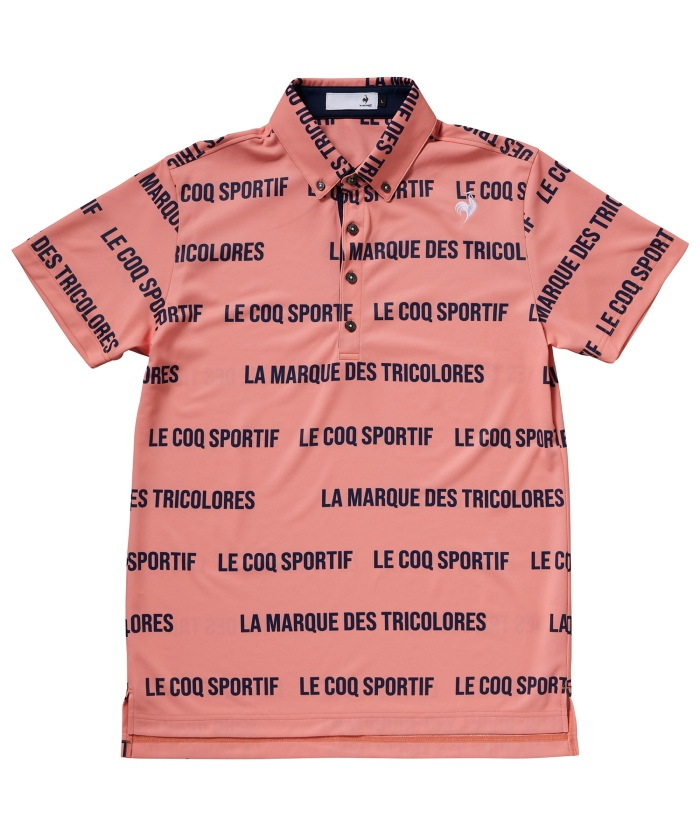 【ALLIEコラボ】キープクリーン半袖ポロシャツ《汚れが落ちやすい・吸汗速乾・UPF50》