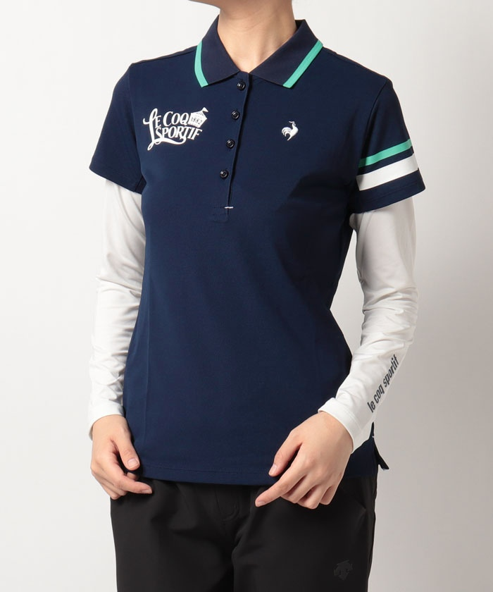 【セット商品】アンダーシャツ付き半袖ポロシャツ《吸汗速乾・UPF30(ポロシャツ)・UPF50(アンダーシャツ
