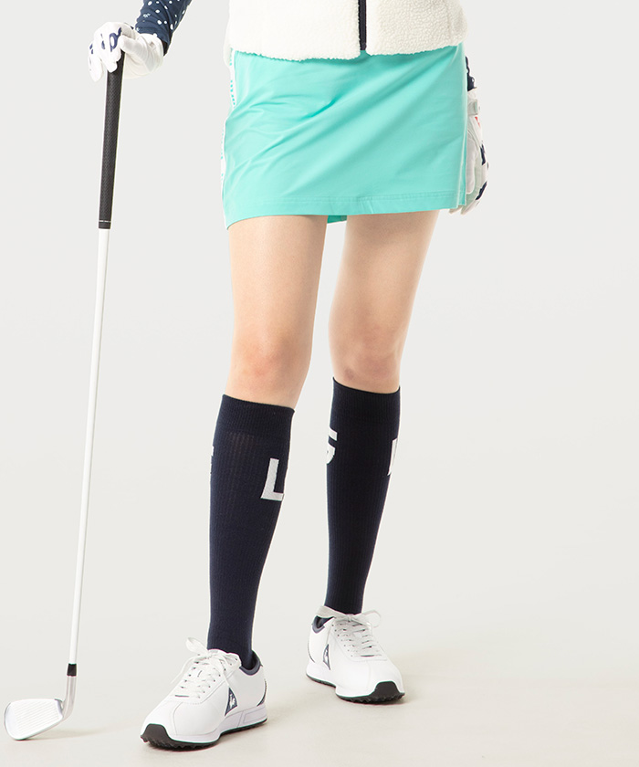 キープクリーンサイドラインスカート《吸水・防風・防汚・ストレッチ》