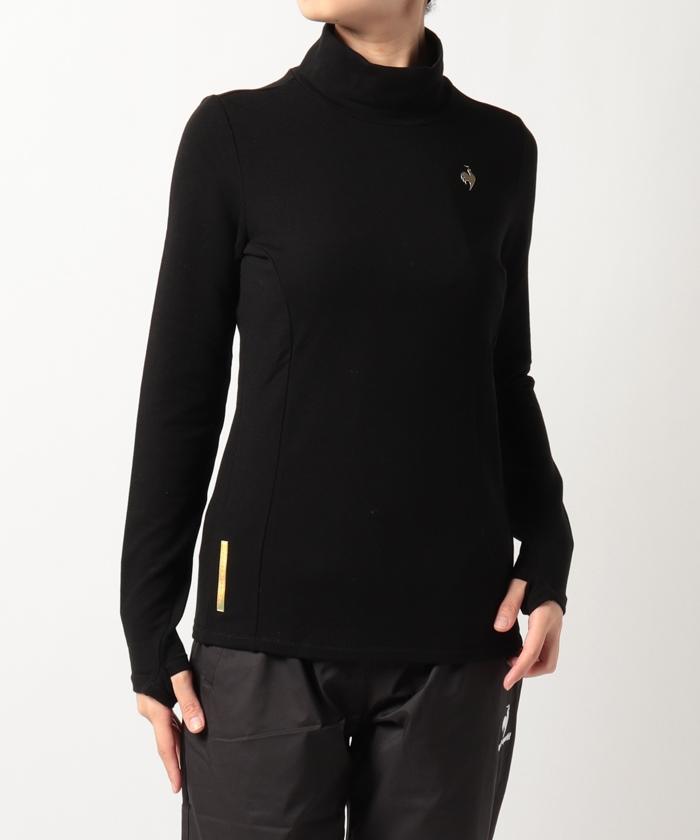 【RIJOUME】裏起毛ハイネックシャツ(ECO・UPF15・吸湿発熱・ストレッチ)