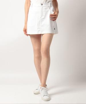 【ALLIEコラボ】コットン台形スカート《ストレッチ》
