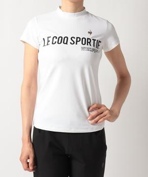 【RIJOUME】モックネック半袖シャツ《ECO・吸汗速乾・UPF50・ストレッチ》