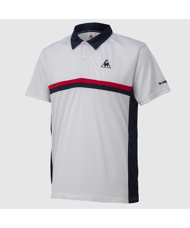 【テニス】【ユニセックス】半袖ポロシャツ