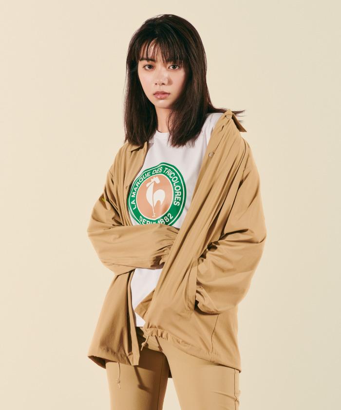 【池田エライザ着用】【レディス】コーチジャケット