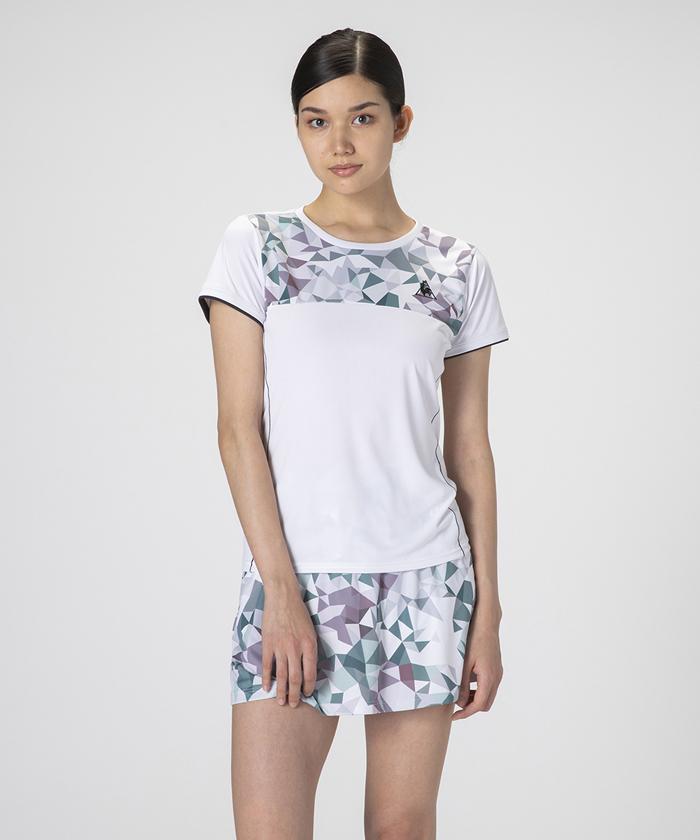 【テニス】【レディス】【セットアップ対応商品】半袖シャツ