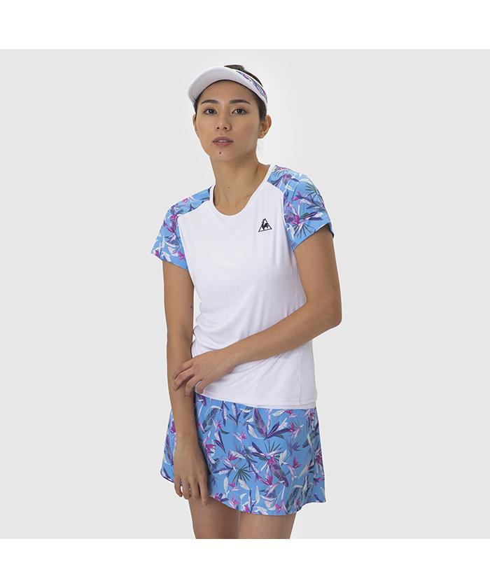 【テニス】【レディス】半袖シャツ