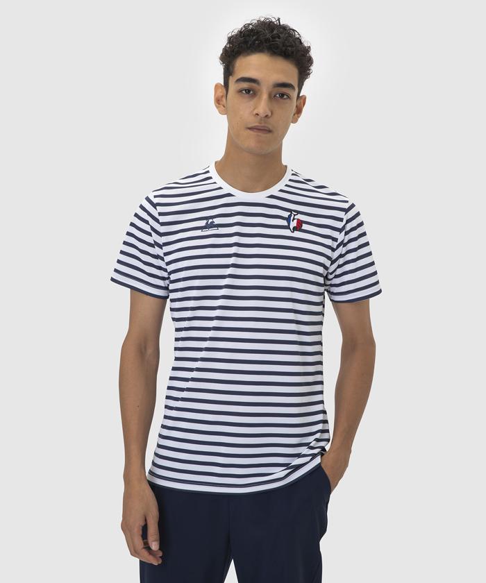 半袖ボーダーシャツ