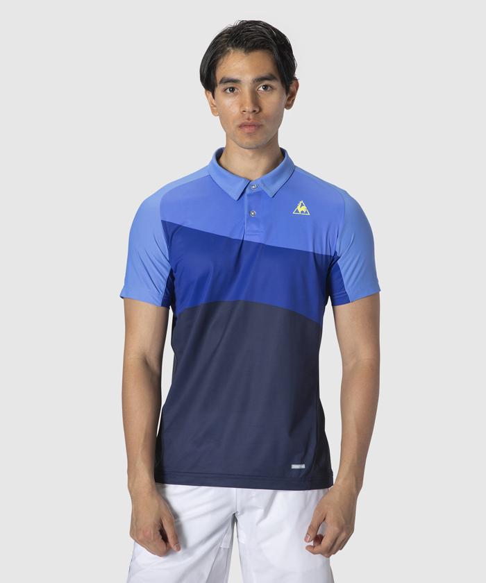 【テニス】【メンズ】半袖ポロシャツ