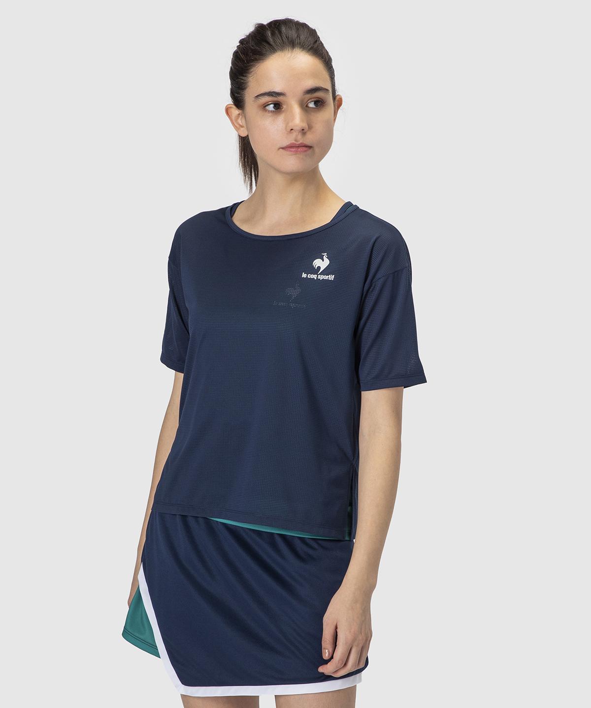 【テニス】リアルレイヤードシャツ