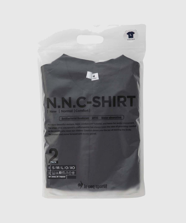 【2枚セット】N.N.C-SHIRT(ニューノーマルコンフォート)ショートスリーブシャツ(2PACK)