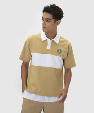 襟付き半袖シャツ