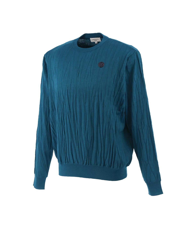 プリーツセーター