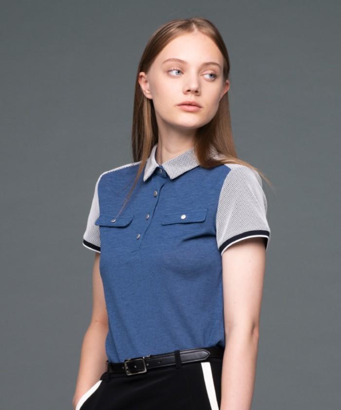ソアリネンカノコ半袖シャツ