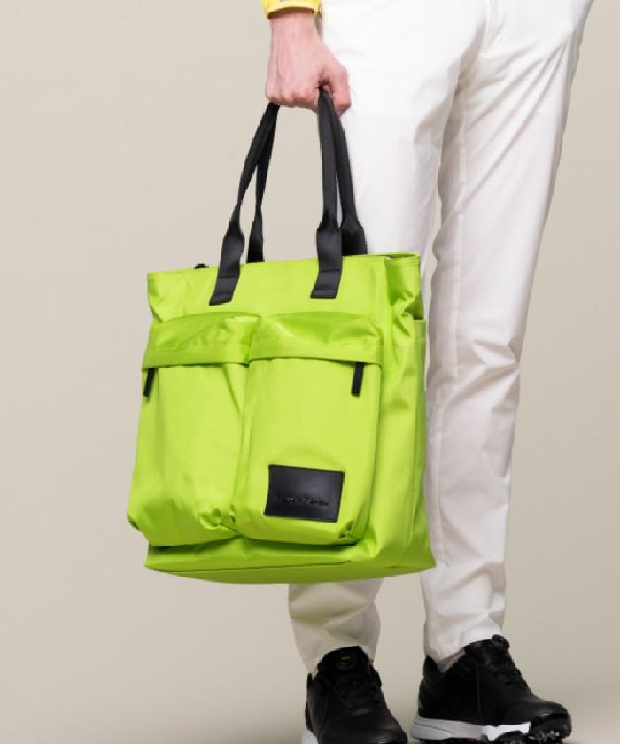 ポケットデザイントートバッグ