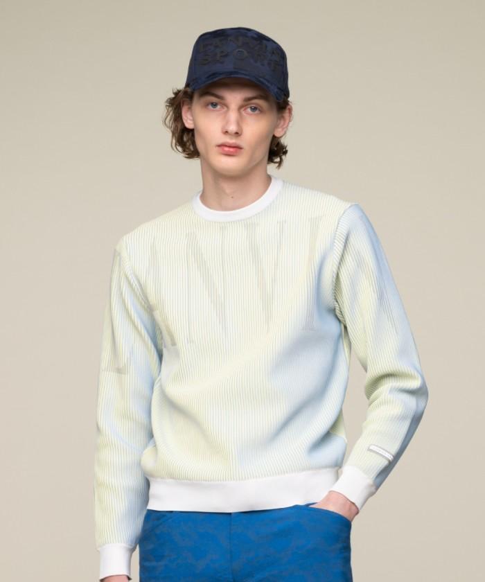 【ECO】ロゴグラフィッククルーネックセーター