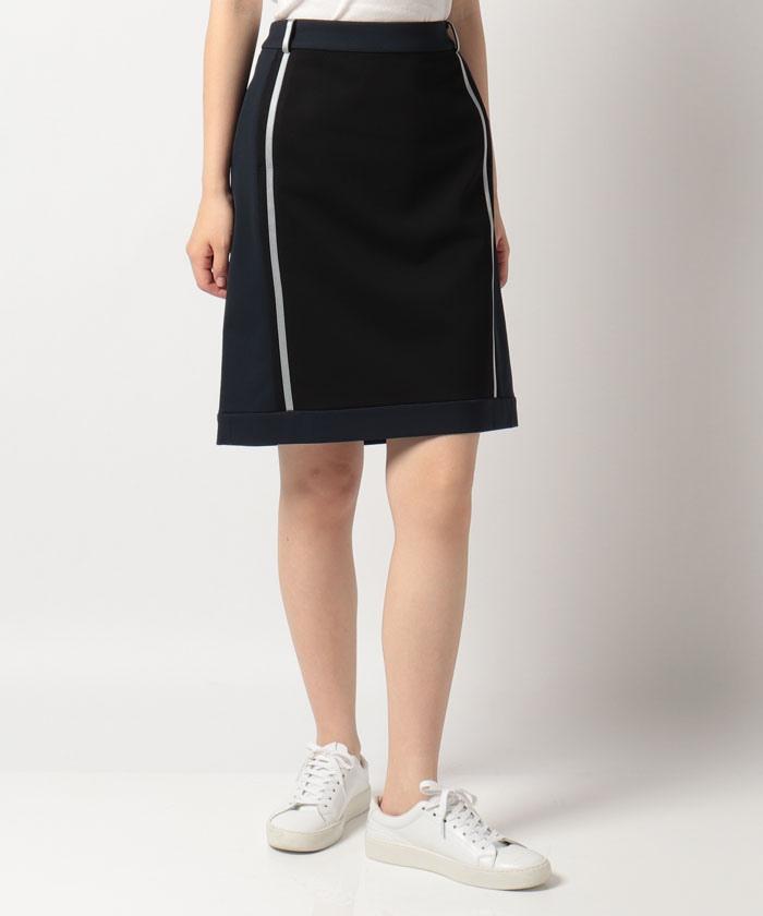 サイドラインジャージスカート(51cm丈)