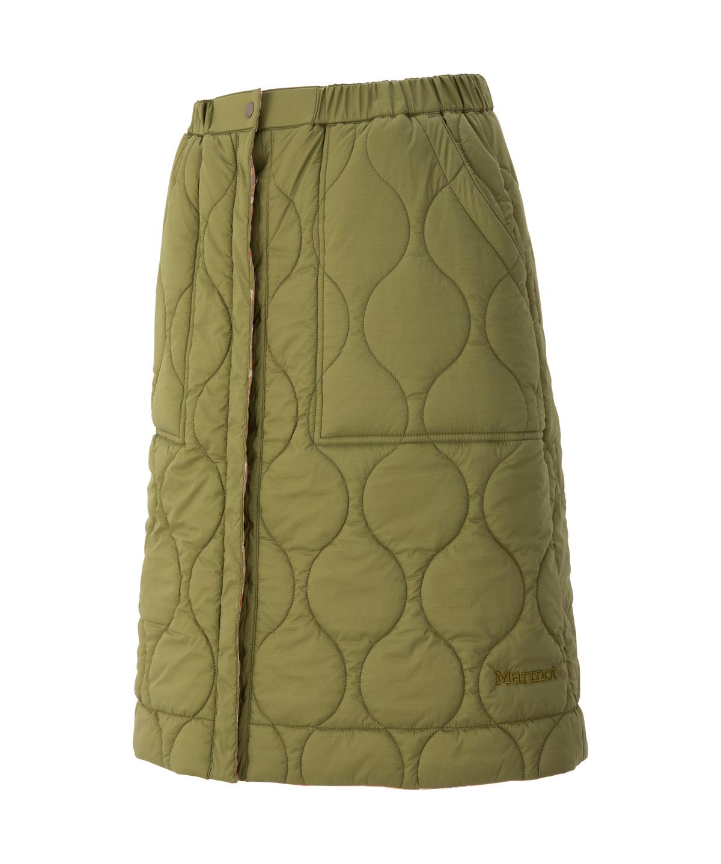 【四角友里コラボレーション】 W's Reversible Padding Skirt / ウィメンズリバーシブルパディングスカー