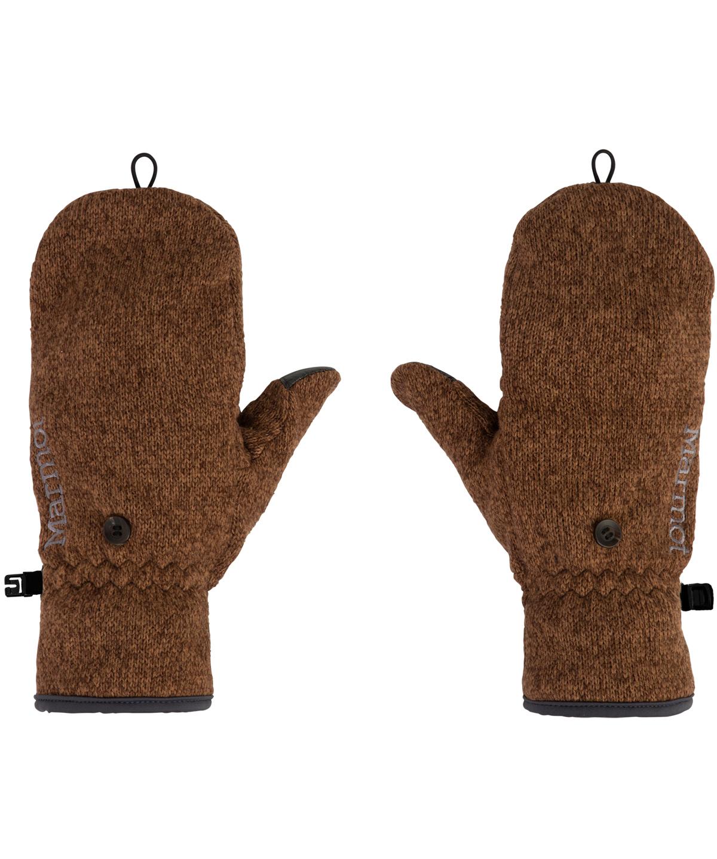 【タッチパネル対応】 Convertible Knit Fleece Glove / コンバーチブルニットフリースグローブ