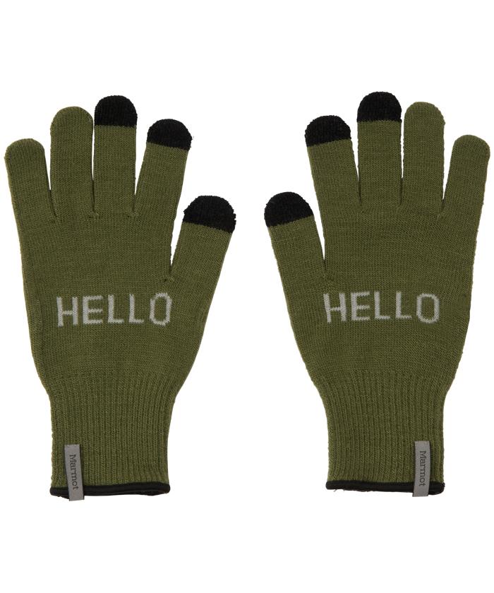 【四角友里コラボレーション】W's Knit Glove / ウィメンズニットグローブ