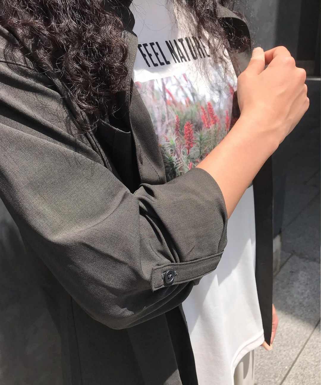【四角友里コラボレーション】W's Yama Shirt / ウィメンズヤマシャツ