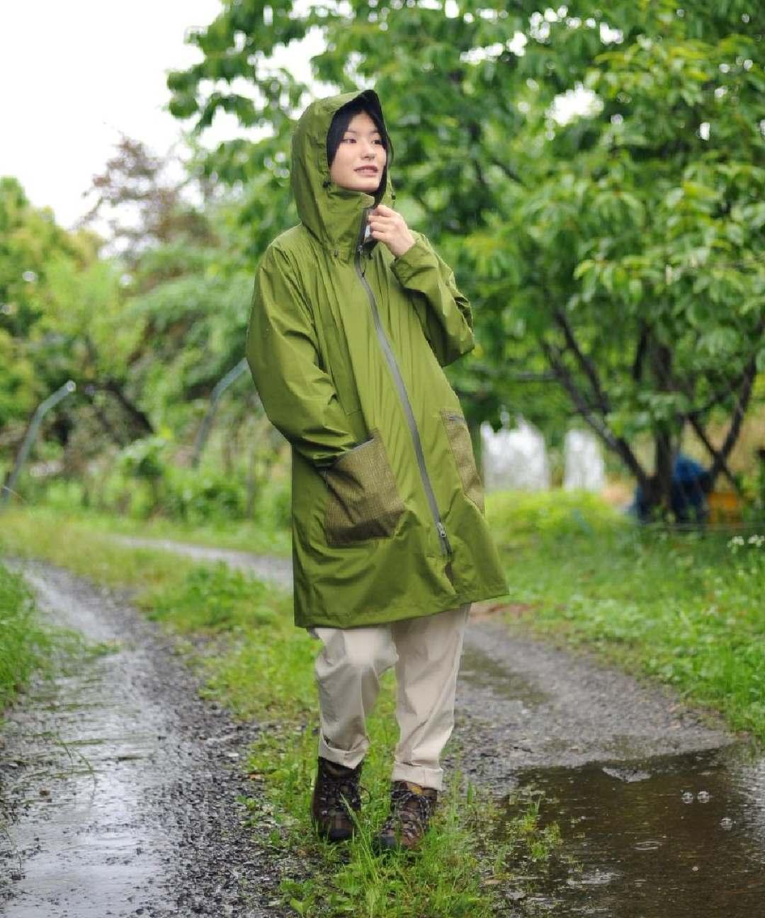【四角友里コラボレーション】W's Welcome Rain Coat / ウィメンズウェルカムレインコート
